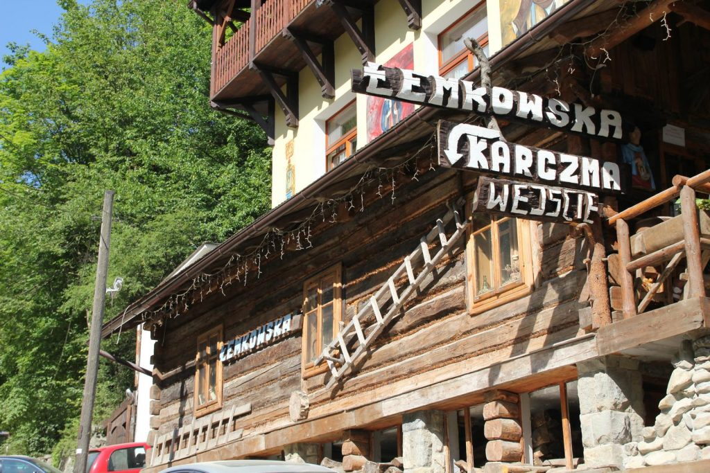 Wejście - Karczma Łemkowska